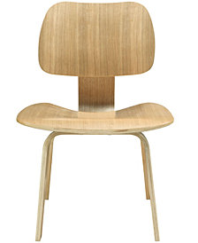 Modway Fathom Dining Wood Side Chair