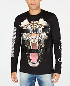 Sean John Men's Rise Up Graphic Print T-Shirt