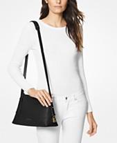 e45dd3288923 MICHAEL Michael Kors Crosby Pebble Leather Messenger Shoulder Bag