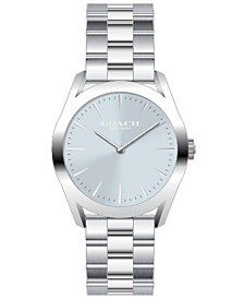 COACH Women's Preston Stainless Steel Bracelet Watch 34mm