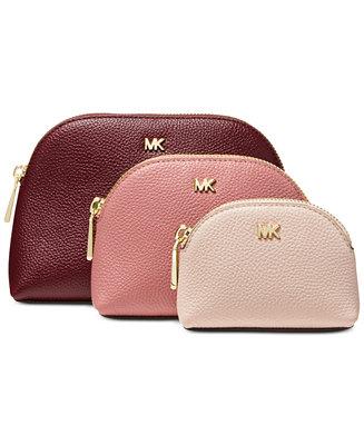 ab9f3f26166d Michael Kors Travel Pouch Trio   Reviews - Handbags   Accessories - Macy s
