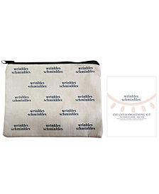 Receive a Free Eye smoothing kit single pack and Bag with any Wrinkles Schminkles purchase!
