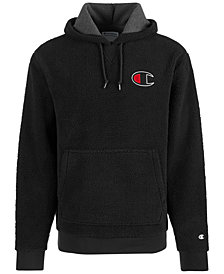 Champion Men's Fleece Logo Hoodie