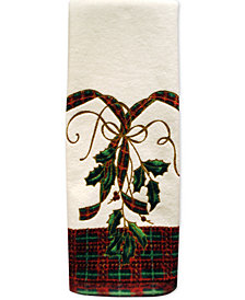 "Lenox Bath Towels, Holiday Nouveau 16"" x 28"" Hand Towel"