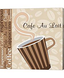 Cafe Latte IX by ND Art & Design Canvas Art