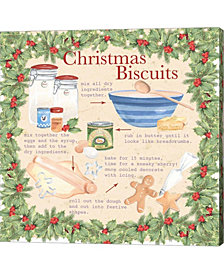 Christmas Biscuits 2 by P.S. Art Studios Canvas Art