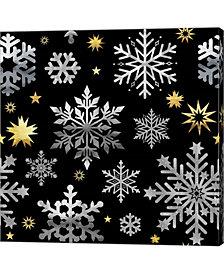Park Avenue Snowflak by Tina Lavoie Canvas Art