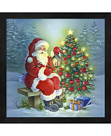 Santas Christmas Tre By Dbk-Art Licensing Framed Art