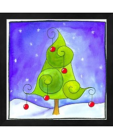 Christmas Tree By Esteban Studio Framed Art