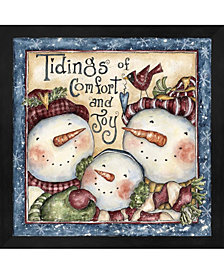 Tidings Of Comfort A By Shelly Rasche Framed Art