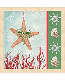 Christmas Coastal 3 by Jade Reynolds Framed Art