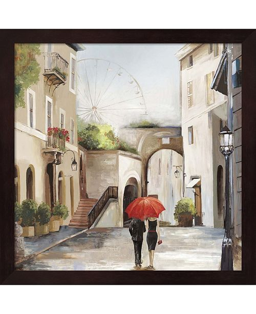 Metaverse Old Town By Allison Pearce Framed Art