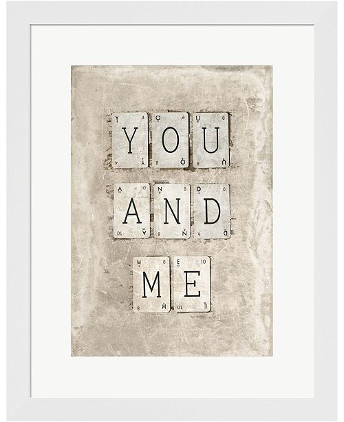 Metaverse You And Me By Symposium Design Framed Art