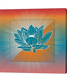 Lotus Blossom By Ramona Murdock Canvas Art