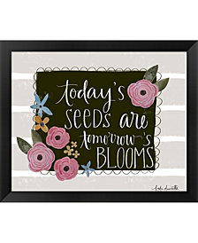 Todays Seeds By Katie Doucette Framed Art