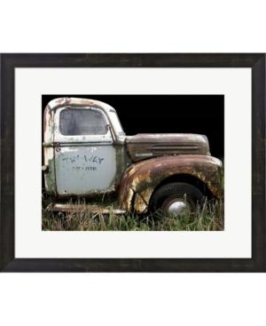 1947 Ford 1 Ton By Larry Hunter Framed Art