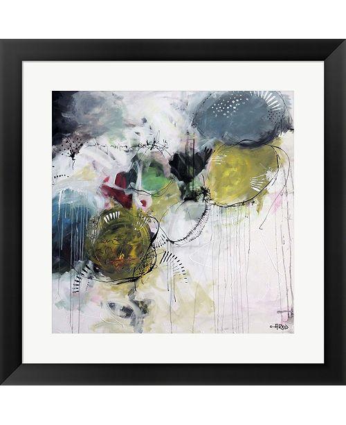 Metaverse Motus Aux Citrons By Annie Rodrigue Framed Art