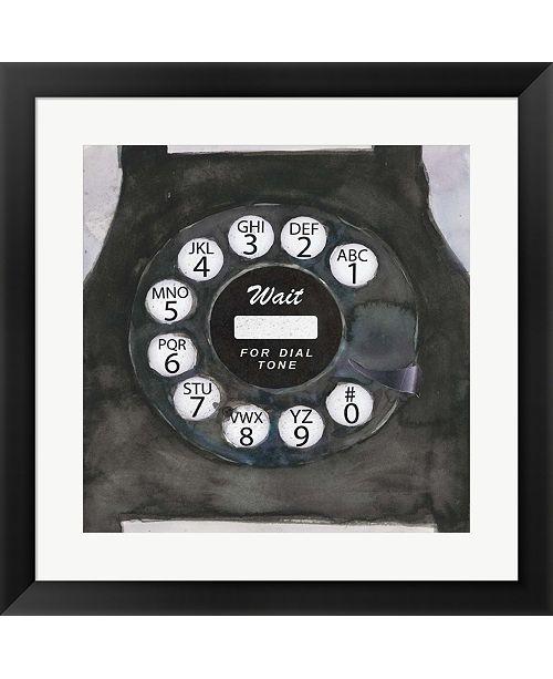 Metaverse Phoning I By Sam Dixon Framed Art