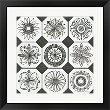 Patterns Of The Amazon Xxi By Kathrine Lovell Framed Art