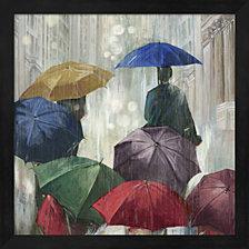 Downpour By Posters International Studio Framed Art