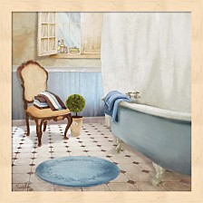 Sundance Bath I By Elizabeth Medley Framed Art