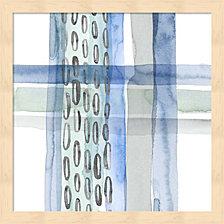 Cross Stitch Iv By Grace Popp Framed Art