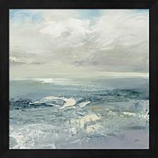Waves By Julia Purinton Framed Art