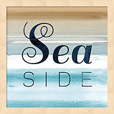 Seaside By Posters International Studio Framed Art