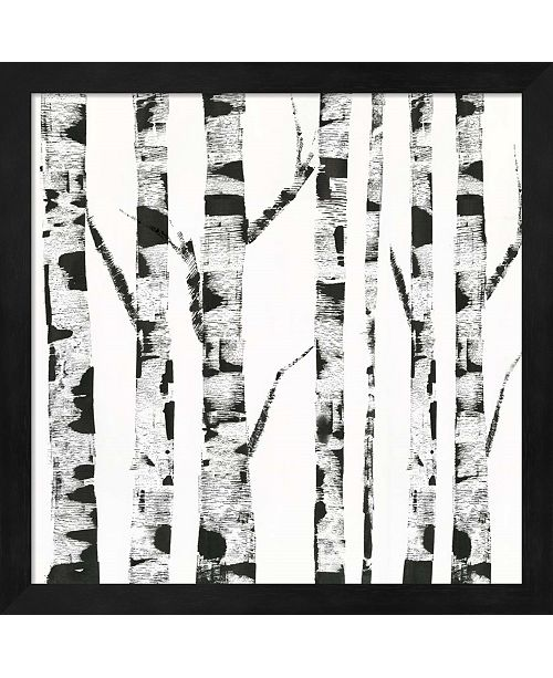 Metaverse White Birch By Posters International Studio Framed Art
