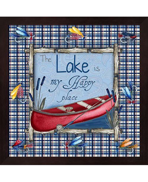 Metaverse On The Lake I By Andi Metz Framed Art