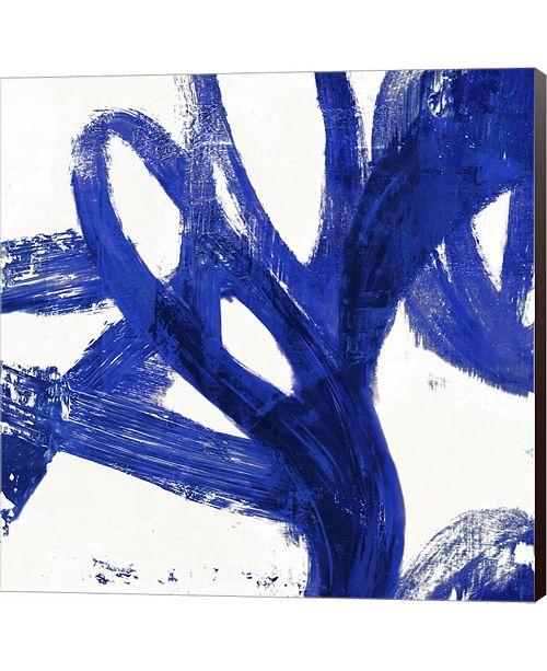 Metaverse Tenderness Indigo By Pi Galerie Canvas Art