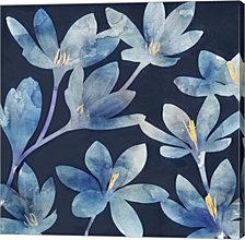 Mystique Blue II by Edward Selkirk Canvas Art