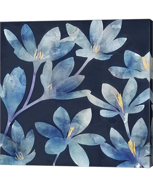 Metaverse Mystique Blue Ii By Edward Selkirk Canvas Art