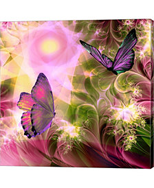 Languid Journeys By Mindy Sommers Canvas Art