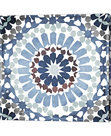 Moroccan Blues IV By Color Bakery Canvas Art