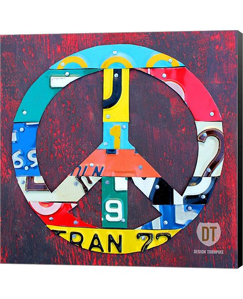Metaverse Peace By Design Turnpike Canvas Art