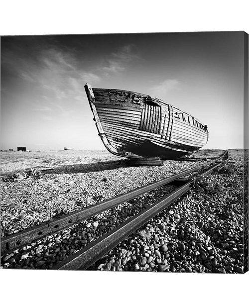 Metaverse Ship Wreck I By Nina Papiorek Canvas Art