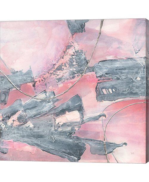 Metaverse Whitewashed Blush II By Chris Paschke Canvas Art