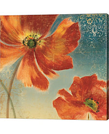 Lovely I New Orange By Asia Jensen Canvas Art