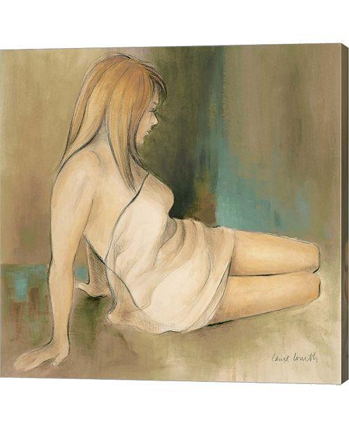 Metaverse Waking Woman Ii- Green By Lanie Loreth Canvas Art