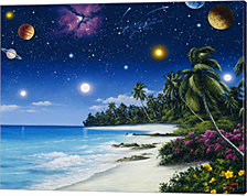 Celestial Shores by Anthony Casay Canvas Art