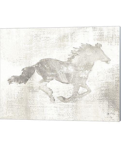 Metaverse Mustang Study Neutral By Studio Mousseau Canvas Art