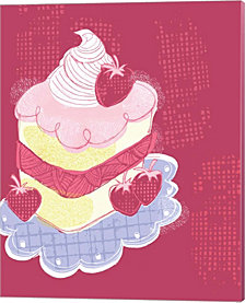 Strawberry Short Cake by Esther Loopstra Canvas Art