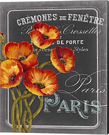 Chalkboard Paris III by Studio W Canvas Art