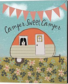 Sweet Camper By Katie Doucette Canvas Art