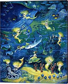Mermaids by Bill Bell Canvas Art