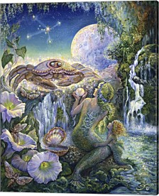 Cancer By Josephine Wall Canvas Art