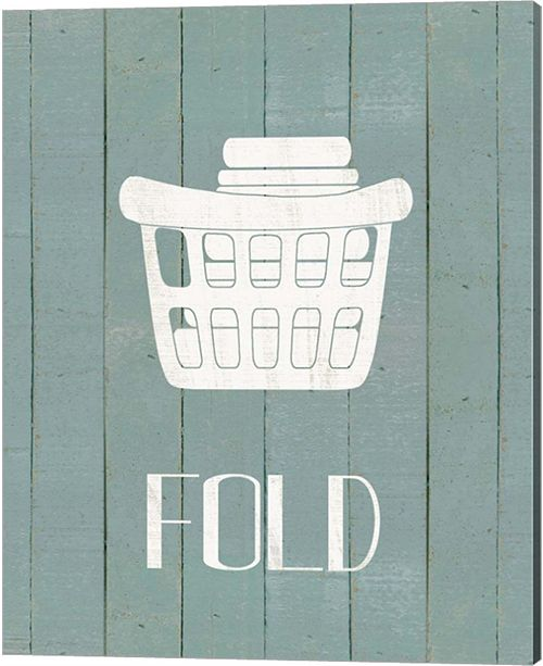 Metaverse Wash House Fold By Jo Moulton Canvas Art