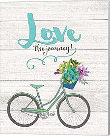 Love the Journey by Jo Moulton Canvas Art