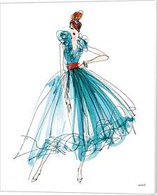 Colorful Fashion II by Anne Tavoletti Canvas Art